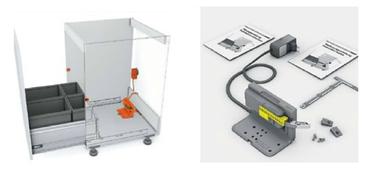 Système pour tiroir motorisé