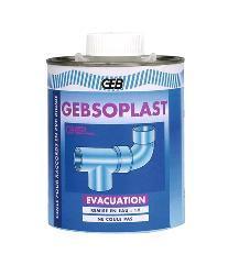 COLLE PVC - GEBSOPLAST GEL - EVACUATION