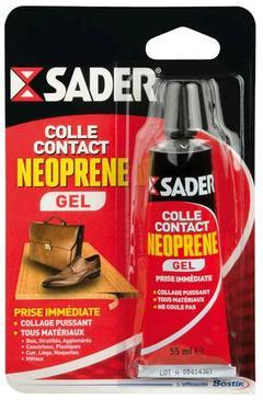 COLLE CONTACT NÉOPRÈNE  GEL - BLISTER