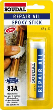 COLLE EPOXY STICK 57G  - BLISTER