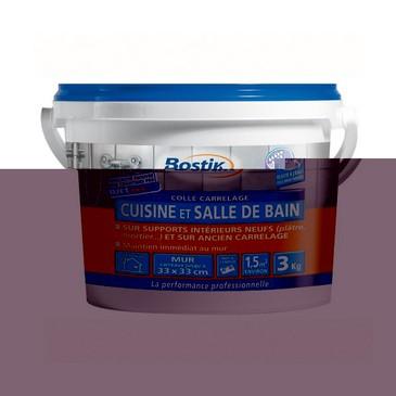COLLE CARRELAGE CUISINE ET SALLE DE BAIN D2ET - PATE - SEAU 3KG