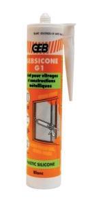 MASTIC SILICONE - GEBSICONE G - CARTOUCHE 310ML