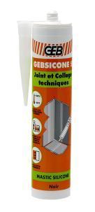 MASTIC SILICONE - GEBSICONE S - CARTOUCHE 310ML