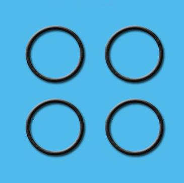 JOINTS DE CULOTS POUR SIPHON D 62MM - BLISTER 4 PIECES