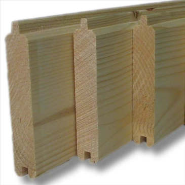 Planches et panneaux de bois