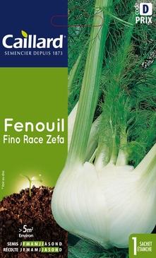 GRAINES DE FENOUIL FINO RACE ZEFA - 3 GR