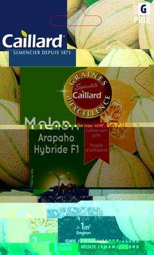 GRAINES DE MELON  HYBRIDE F1 - 0,4 GR
