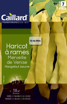 GRAINES DE HARICOTS A RAMES - VARIETES DIVERSES - 200G